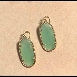 Kendra Scott Elle Chalcedony earrings